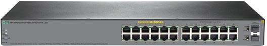 HPE OfficeConnect 24G 2SFPPPoE+ 185W Switch #JL384A