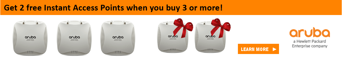 HPE Aruba 5 for 3 Bundle Promotion